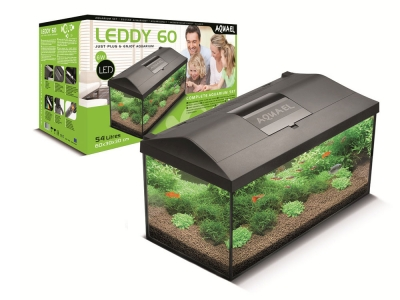 Aquael AQUARIUM LEDDY SET 75 BLACK