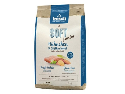 Bosch Soft+ Junior Huhnchen and Subkartoffel