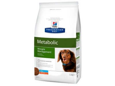Hill's Prescription Diet Metabolic Mini Weight Management Dog