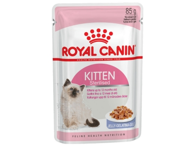 Royal Canin Kitten Instinctive Sterilised в желе