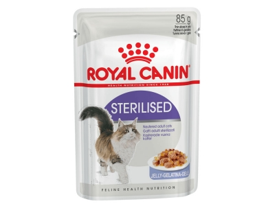 Royal Canin Sterilised в желе