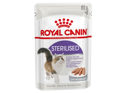 Royal Canin Sterilised в паштете