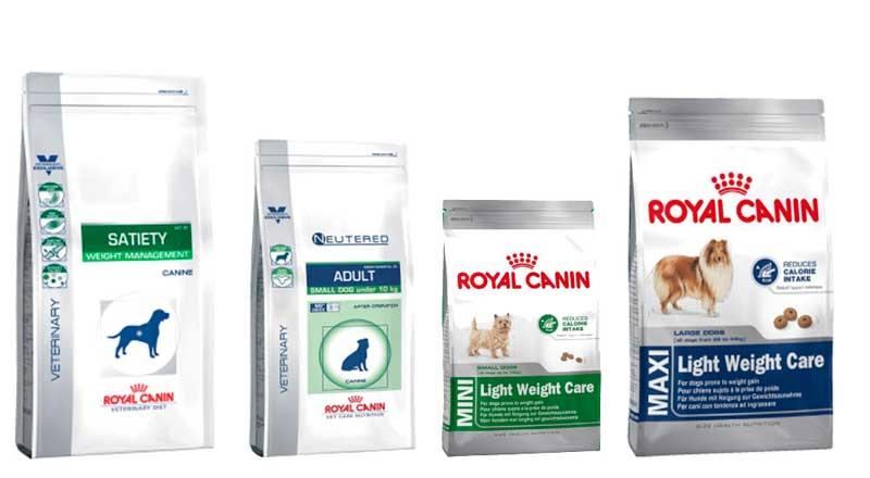 Корма Роял Канин для собак с излишним весом