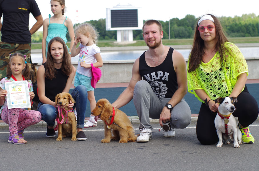 Победители первого зоозабега в Бресте